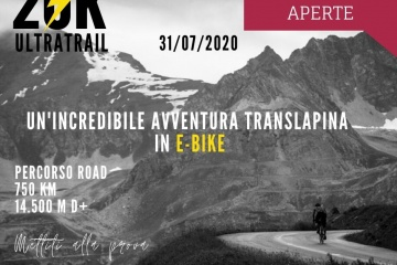 20k ultratrail bikepacking con bici elettrica